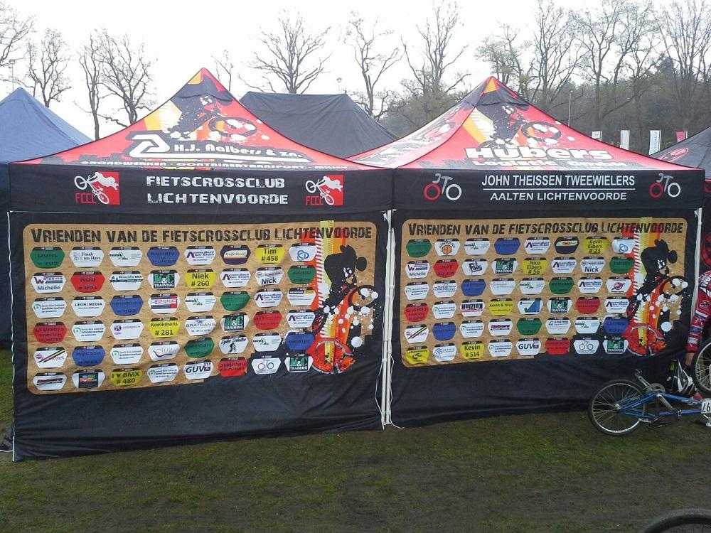 Quick Folding Tent - Sponsor Wall Tent