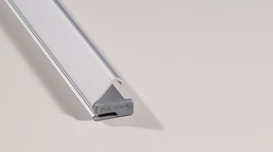 Display Snap-lock profiel