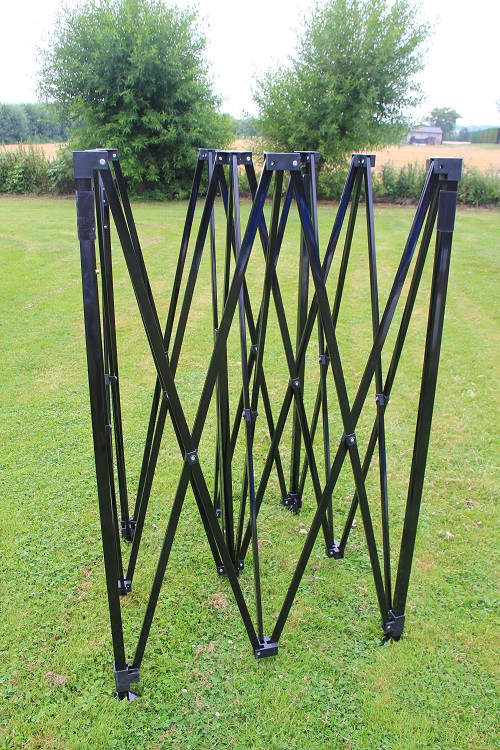 Quick Folding Tent frame zwart