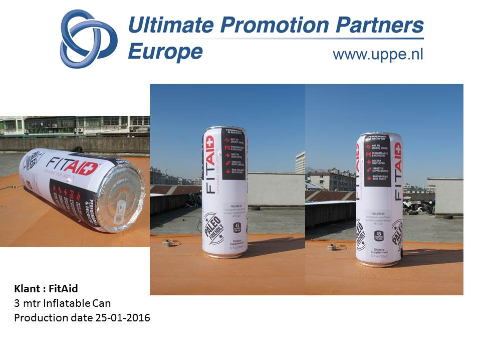 Fit Aid UPPE Inflatable Can
