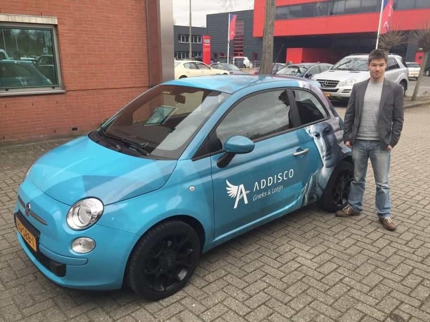 Exclusive Car Wrap Addisco lr