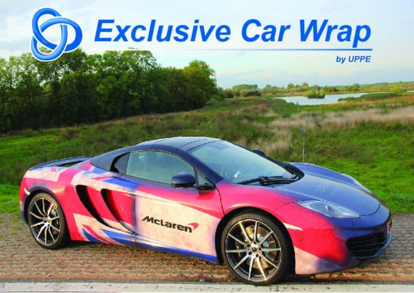 Exclusive Car Wrap McLaren 12C I