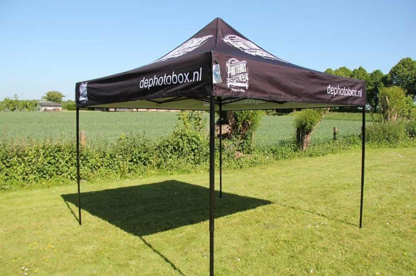 Quick Folding Tent - Zwart Frame